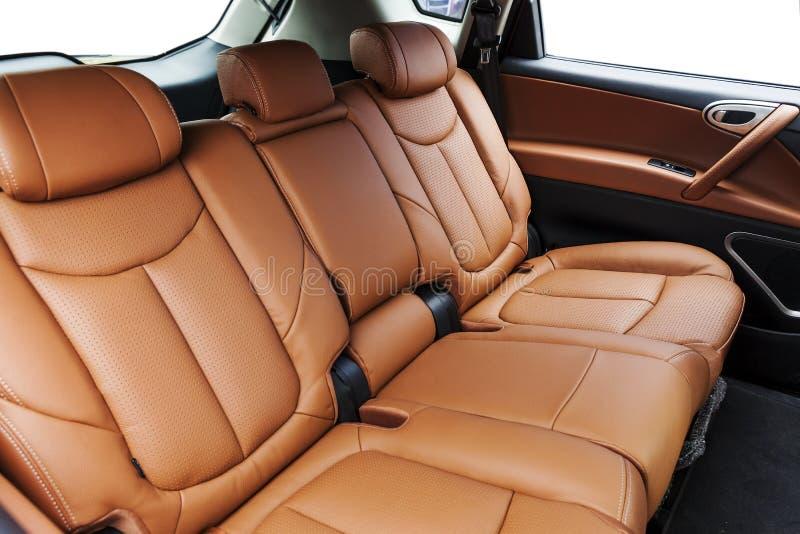 Задние сиденья автомобиля стоковое фото