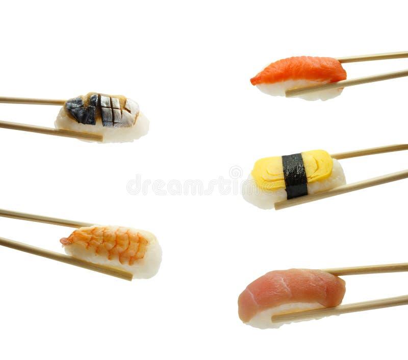 задние суши палочек предпосылки стоковые изображения