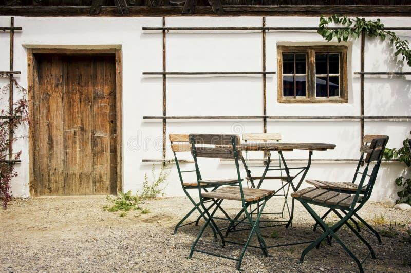 Задний двор стоковое изображение rf