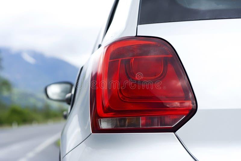 Задний свет автомобиля стоковая фотография rf