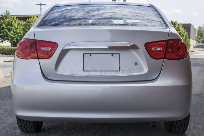 Задняя часть Hyundai стоковое фото