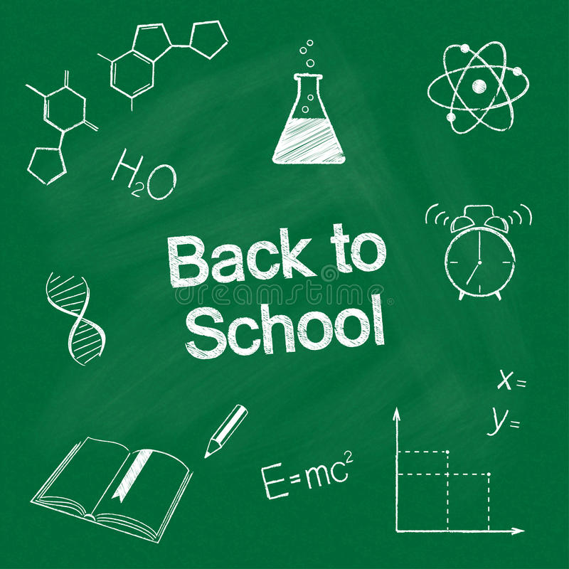 Download задняя школа к иллюстрация вектора. иллюстрации насчитывающей образование - 41660856