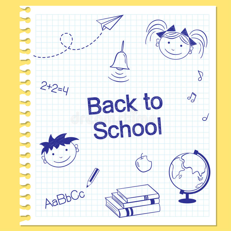 Download задняя школа к иллюстрация вектора. иллюстрации насчитывающей ранг - 41660863