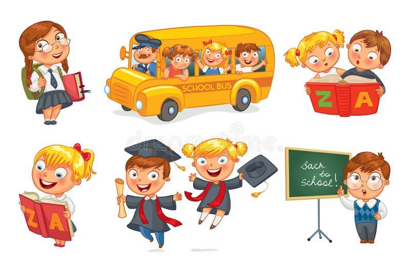 задняя школа к бесплатная иллюстрация