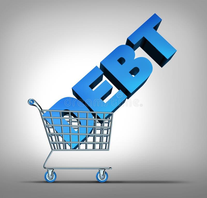 Задолженность по потребительскому кредиту иллюстрация штока