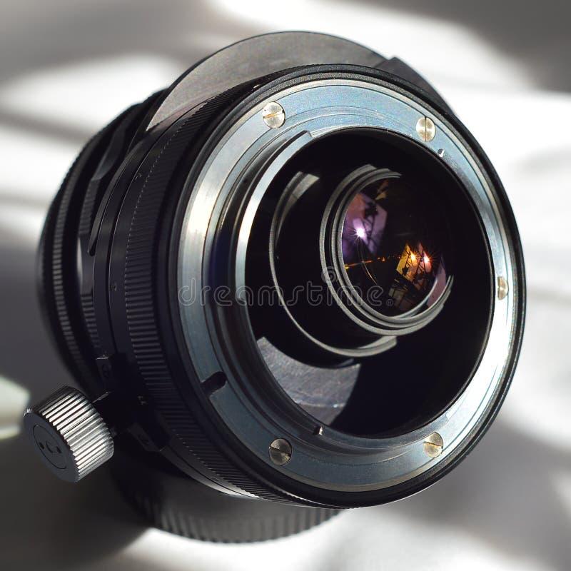 Зад ПК 35mm f2 Nikkor 8 NKJ стоковая фотография rf