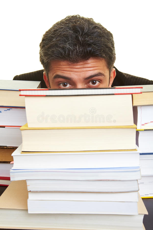 за прятать книг стоковые изображения rf