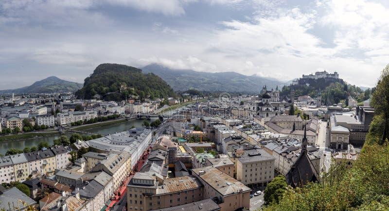 Download Зальцбург стоковое фото. изображение насчитывающей река - 40579206