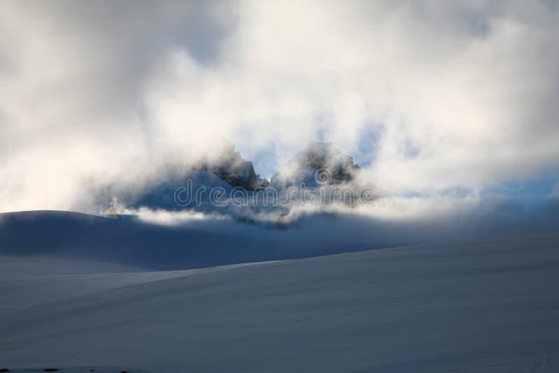 за tronador солнца patagonia mt облаков стоковые изображения rf