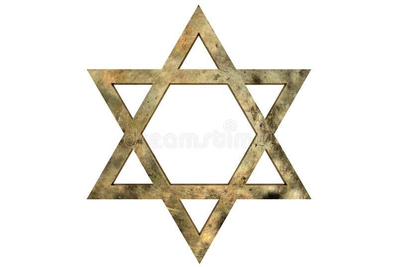 звезда Давида стоковое фото