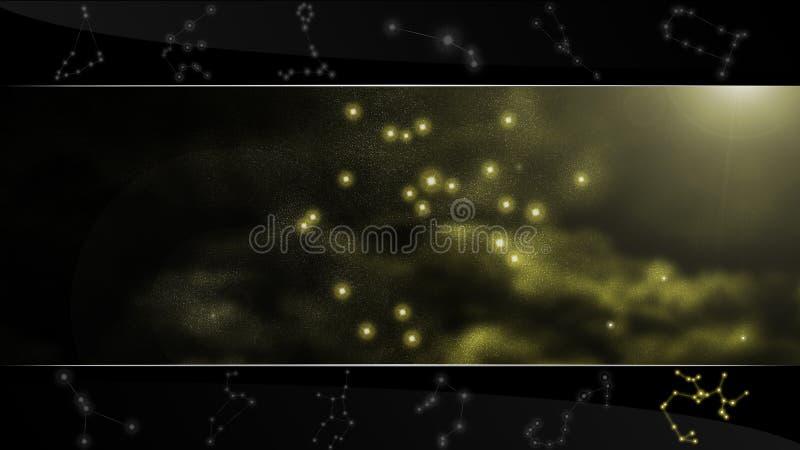 звезда знака sagittarius лучника стоковое фото rf