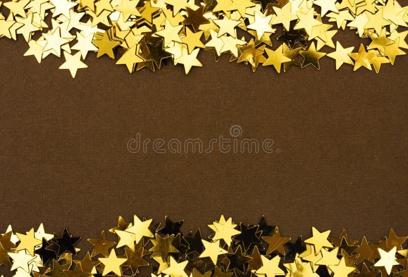 звезда золота граници стоковые изображения rf