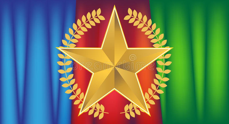 звезда золота drapery