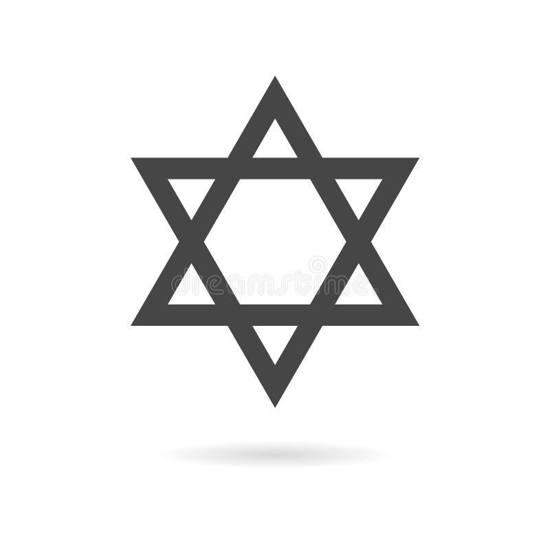 звезда иллюстрации 3d Давида иллюстрация вектора