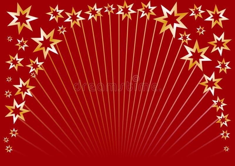 звезда красного цвета круга стоковые изображения