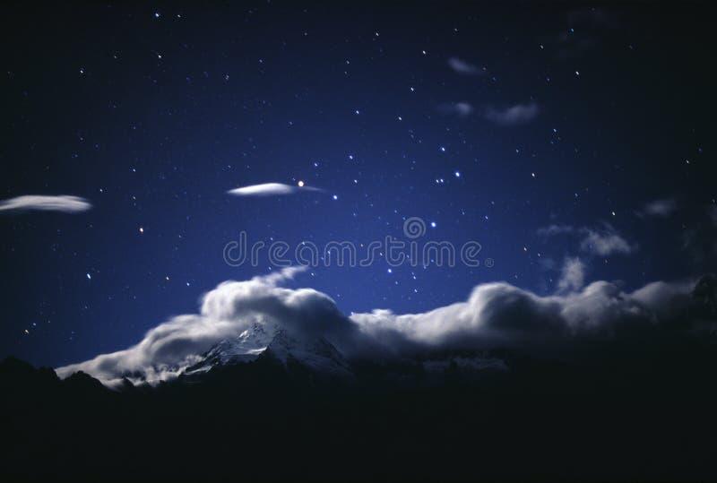 звезда неба стоковое изображение rf