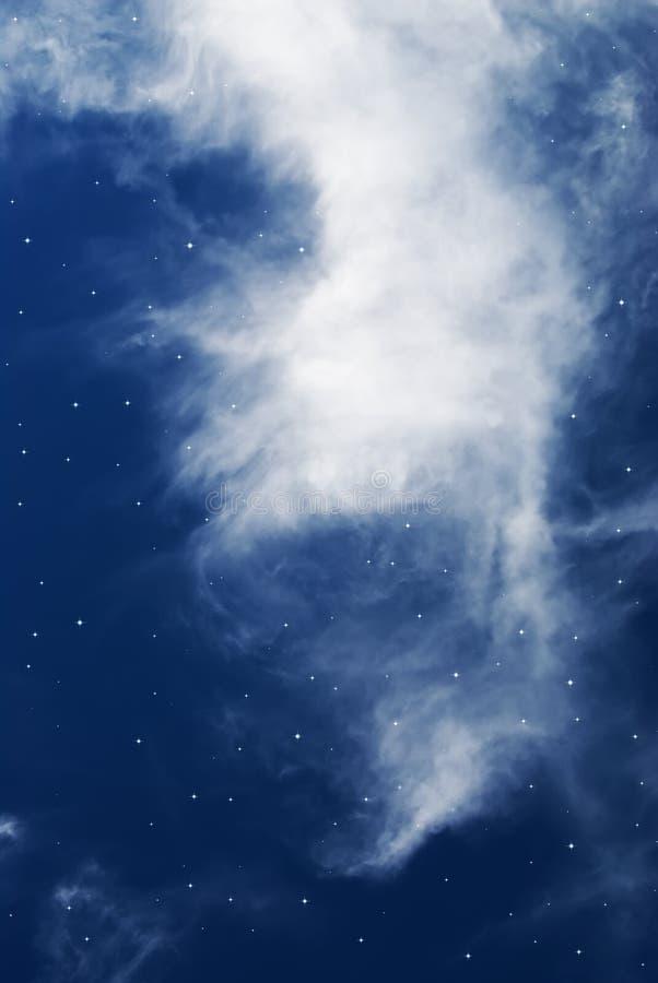 звезда ночи стоковое изображение rf