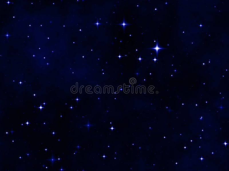 звезда ночного неба иллюстрация вектора