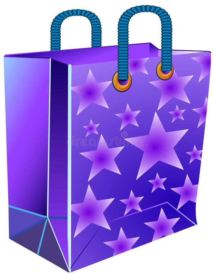 звезда пакета иллюстрация вектора