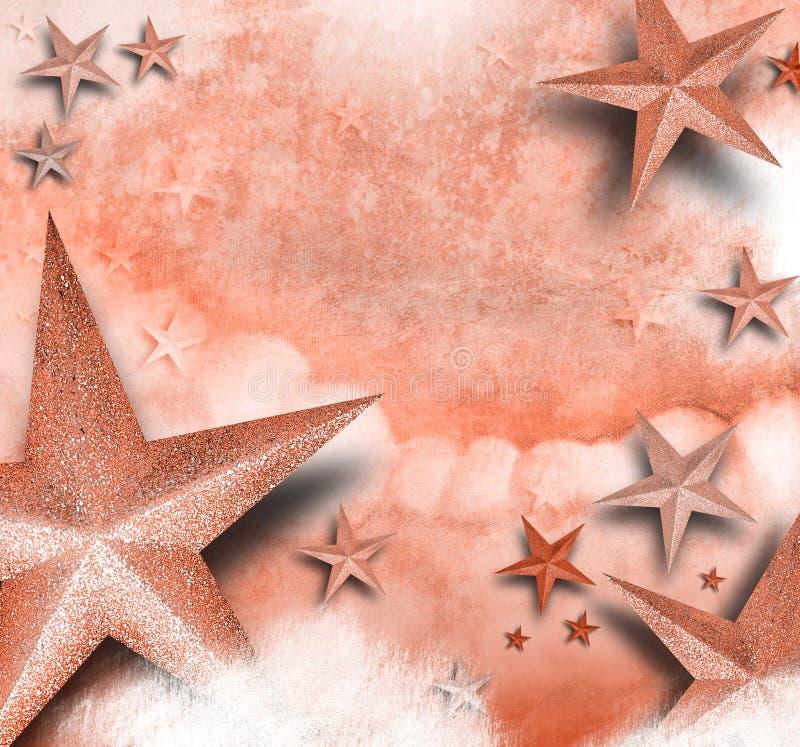 звезда пинка влюбленности предпосылки стоковое изображение rf