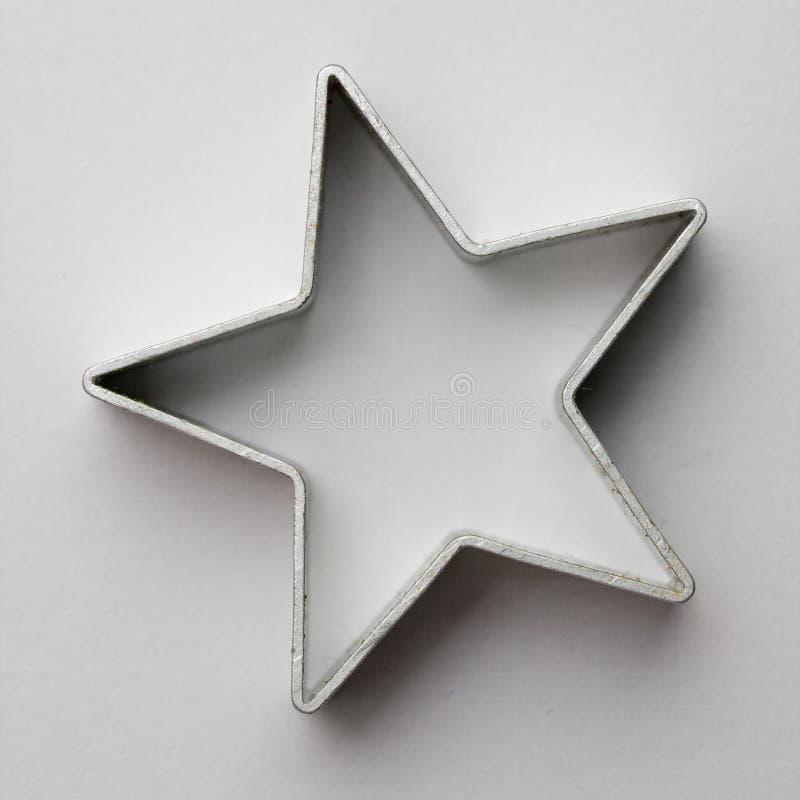 звезда резца печенья стоковые фото