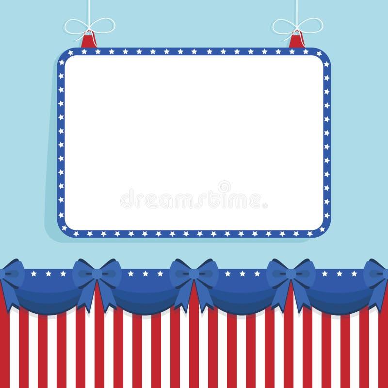 звезда США рамки бесплатная иллюстрация