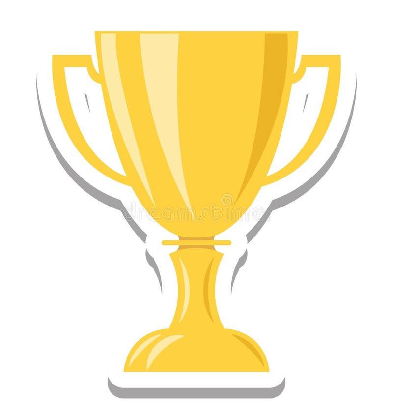 Звезда, трофей изолировала вектор Iconc иллюстрация штока