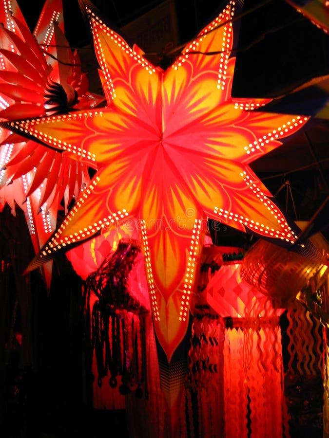 звезда фонарика стоковое фото