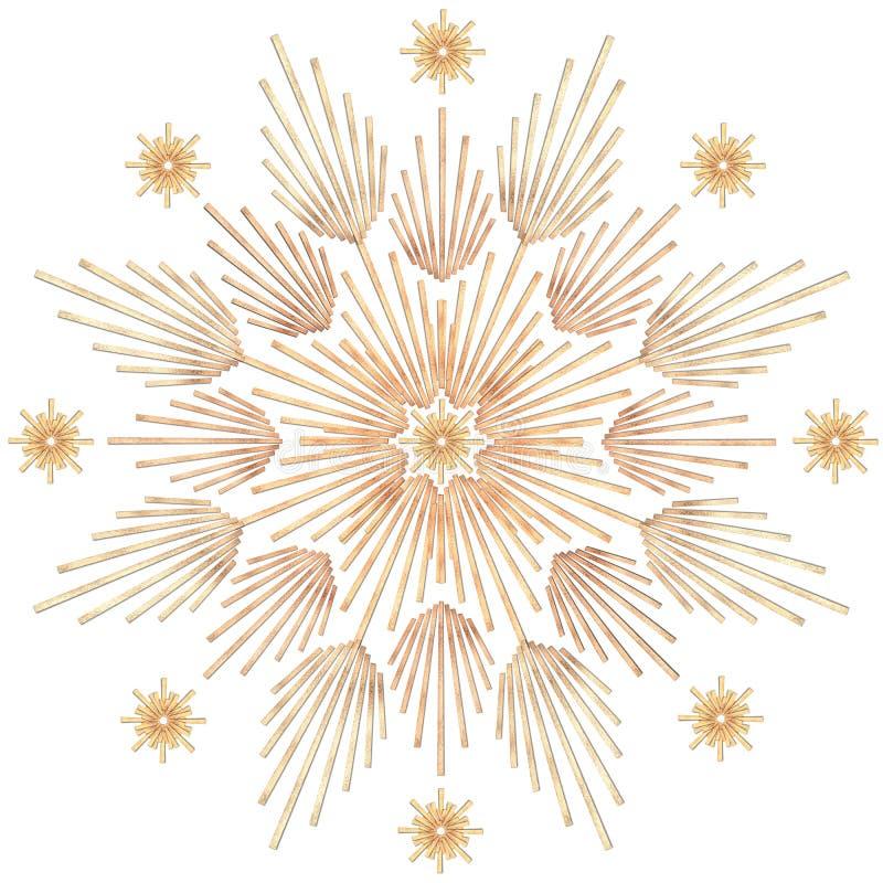 звезда 2 лучей иллюстрация штока