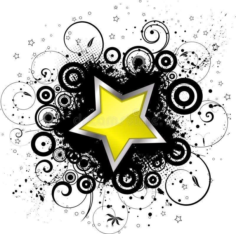 звезда grunge бесплатная иллюстрация