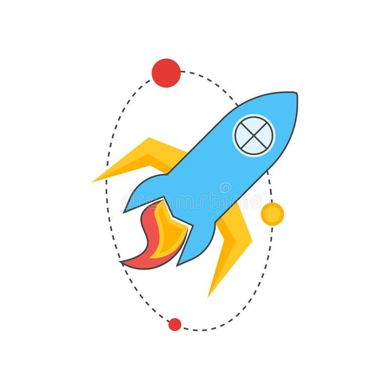Звездный знак и символ вектора значка изолированные на белой предпосылке, звездной концепции логотипа иллюстрация штока