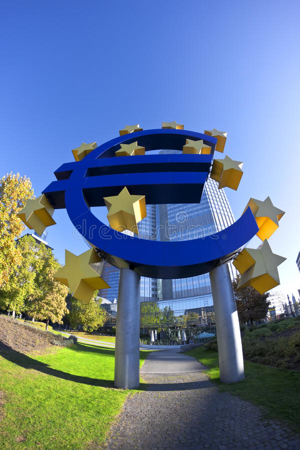 звезды евро стоковая фотография rf