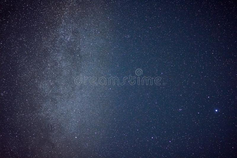 Звезды и млечный путь стоковое изображение