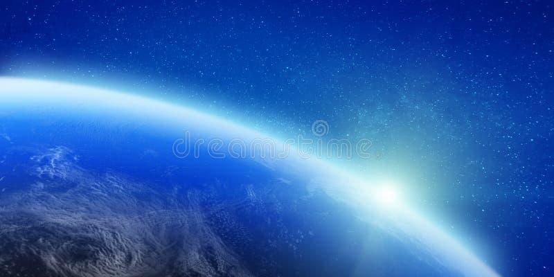 Звезды и облака бесплатная иллюстрация