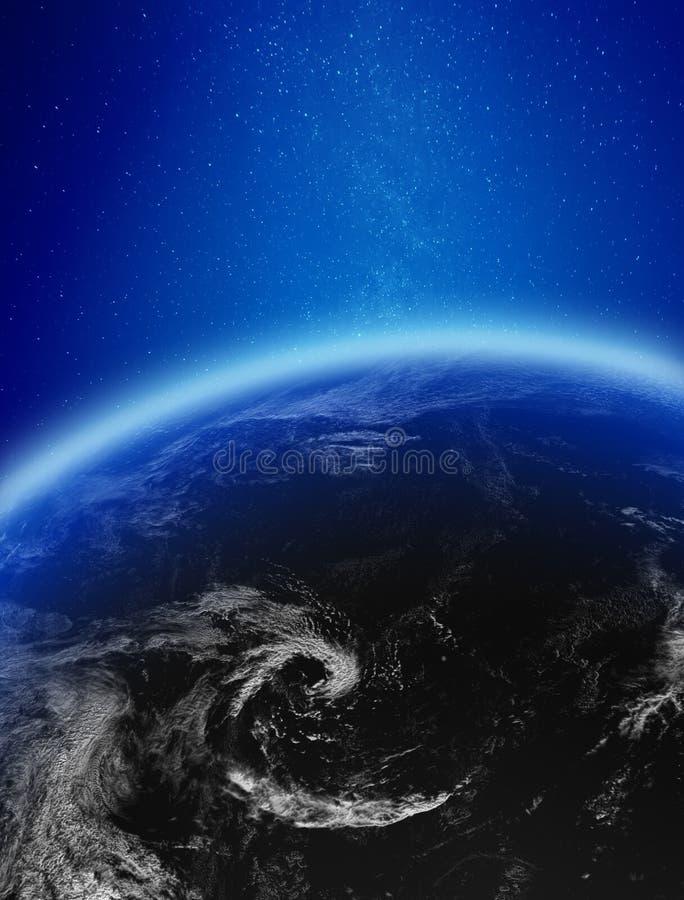 Звезды и облака иллюстрация вектора