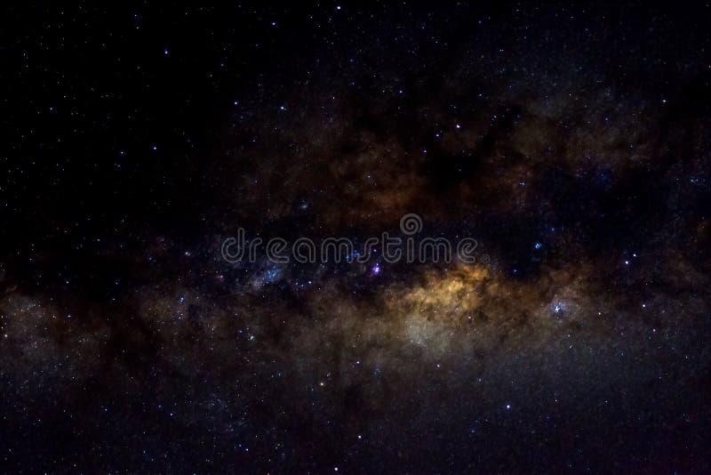 Звезды и предпосылка черноты вселенной ночи неба космического пространства галактики звездная, starfield стоковое изображение