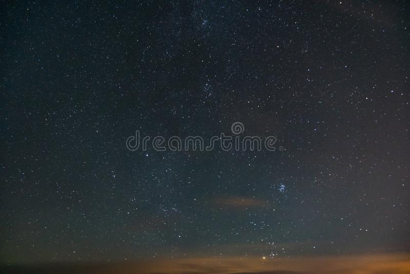 звезды ночного неба стоковое фото