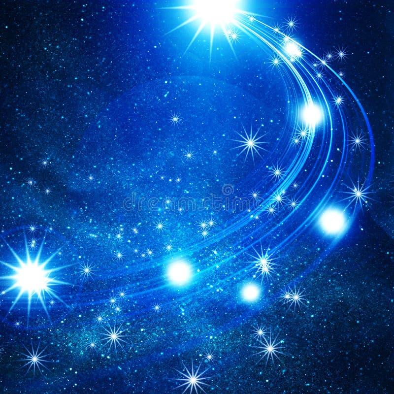 звезды предпосылки накаляя иллюстрация вектора