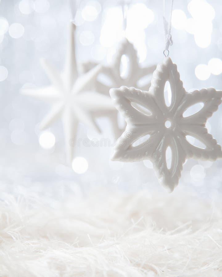 Звезды рождества стоковые изображения rf