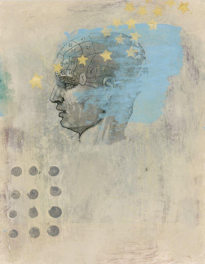 звезды сознавания бесплатная иллюстрация
