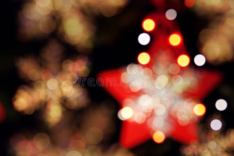 звезды украшения рождества стоковые фотографии rf