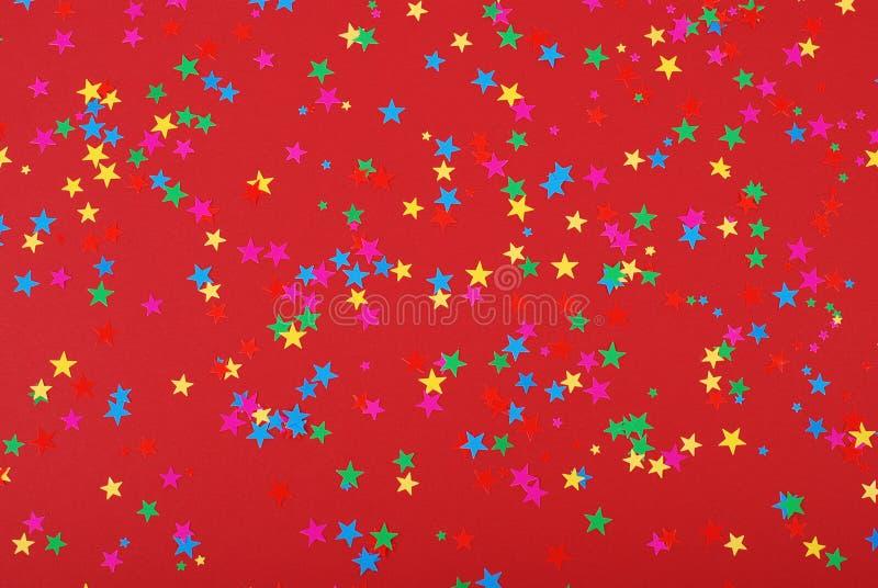 звезды confetti стоковая фотография rf