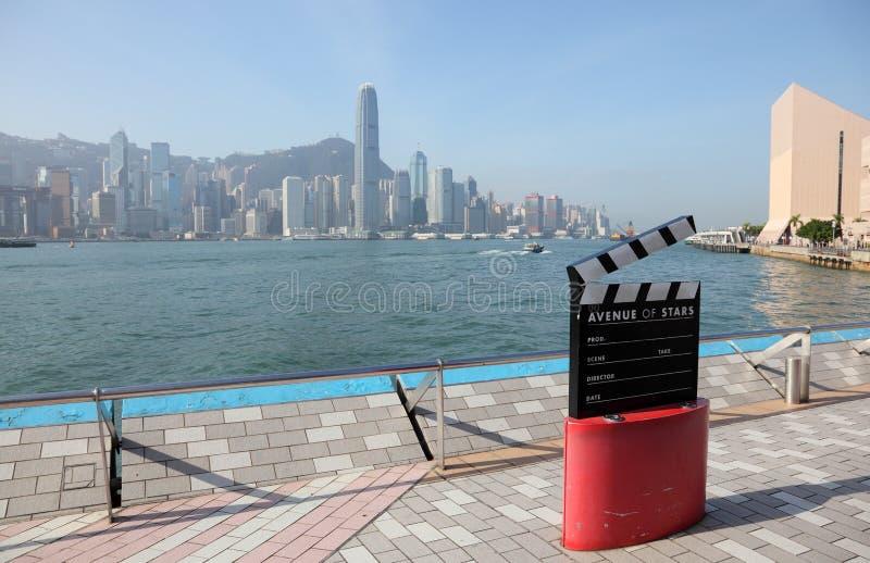 звезды Hong Kong бульвара стоковая фотография rf