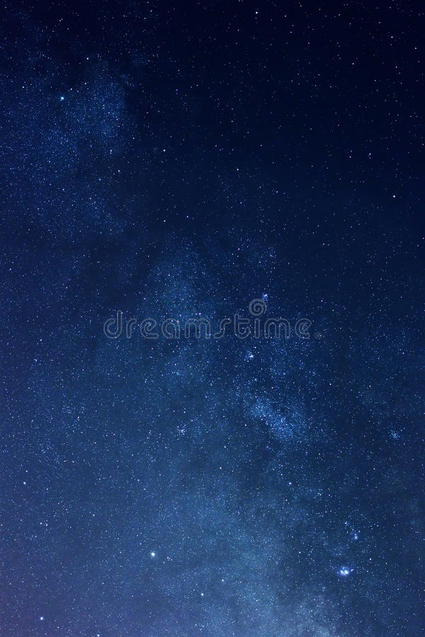 Звезды Milky путя стоковое изображение rf
