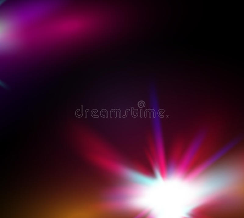Звезда вектора абстрактные сияющие/предпосылка космоса бесплатная иллюстрация