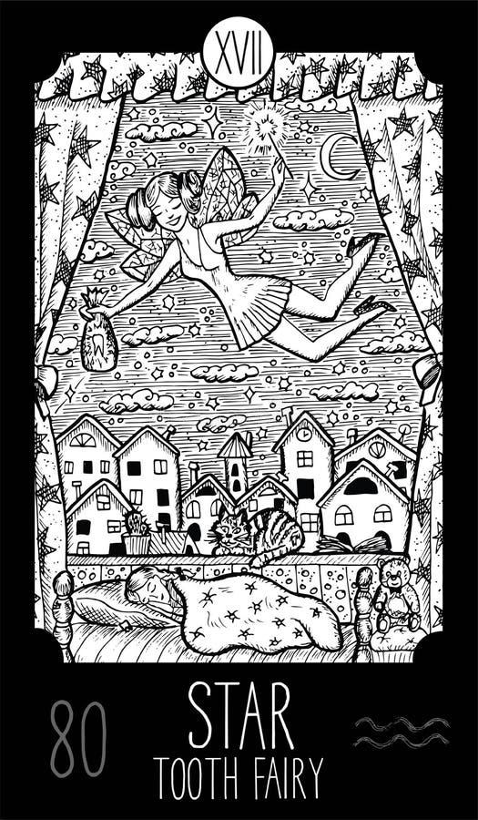 звезда вычерченный fairy зуб иллюстрации руки бесплатная иллюстрация