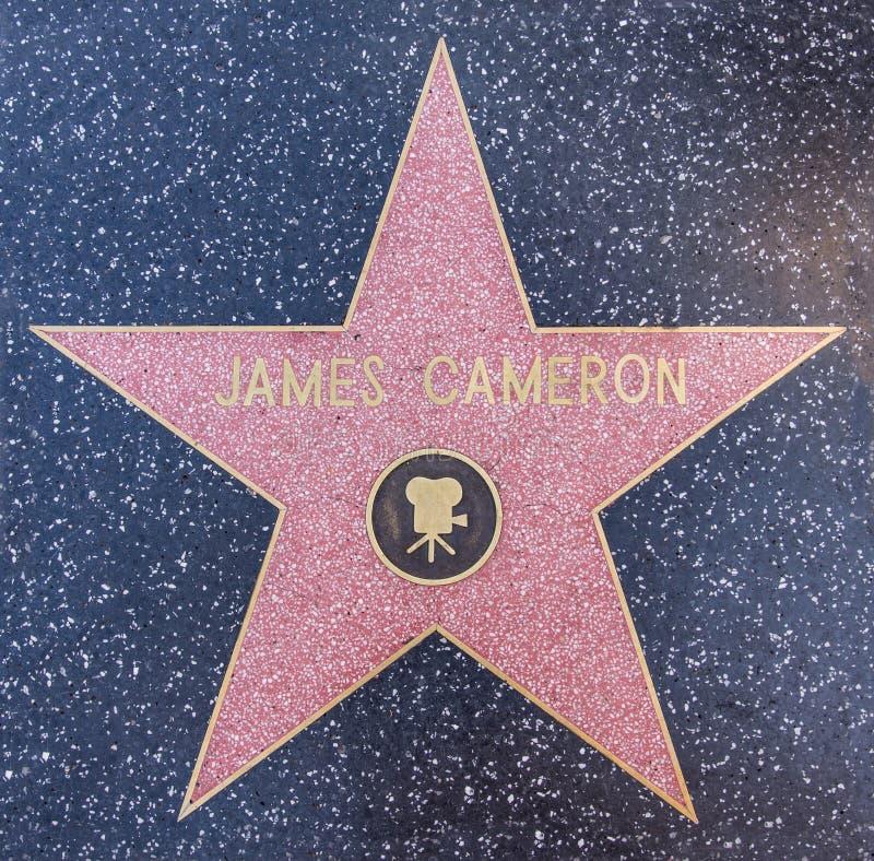 Звезда Джеймс Камерона стоковое фото rf