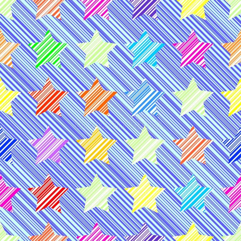 Download звезда картины безшовная иллюстрация вектора. иллюстрации насчитывающей свет - 41658538