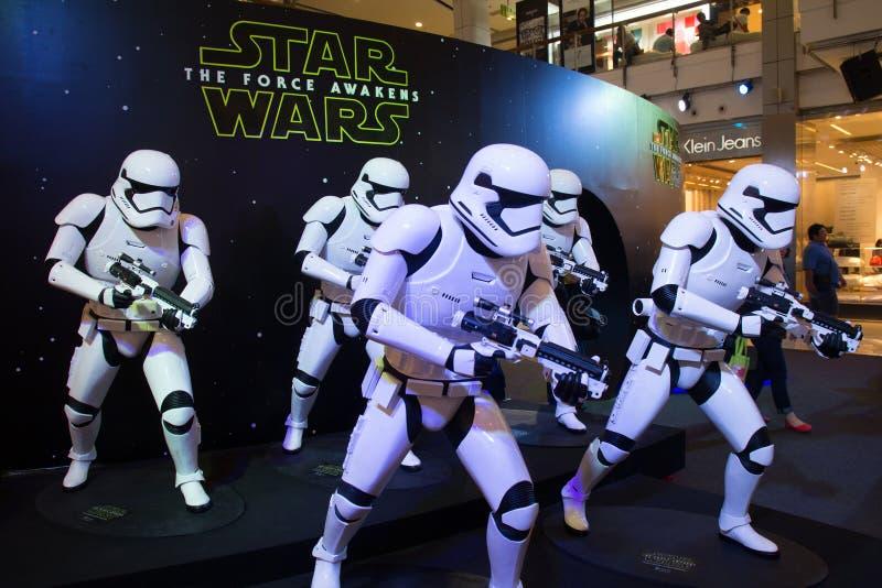 Звездные войны: Сила будит стоковое фото rf