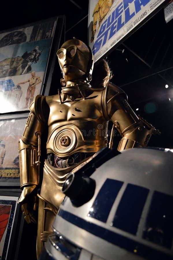Звездные войны Droids стоковая фотография rf